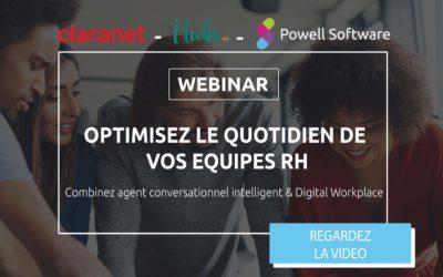 Bot RH : Combinez agent conversationnel intelligent & Digital Workplace